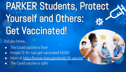 Parker Middle School Covid-19 Vaccine Information
