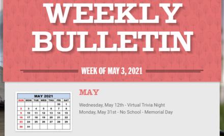 Parker Middle School-Weekly Bulletin 5-3